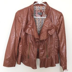 Jackets & Blazers - NWT Brown Jacket by Anthracite